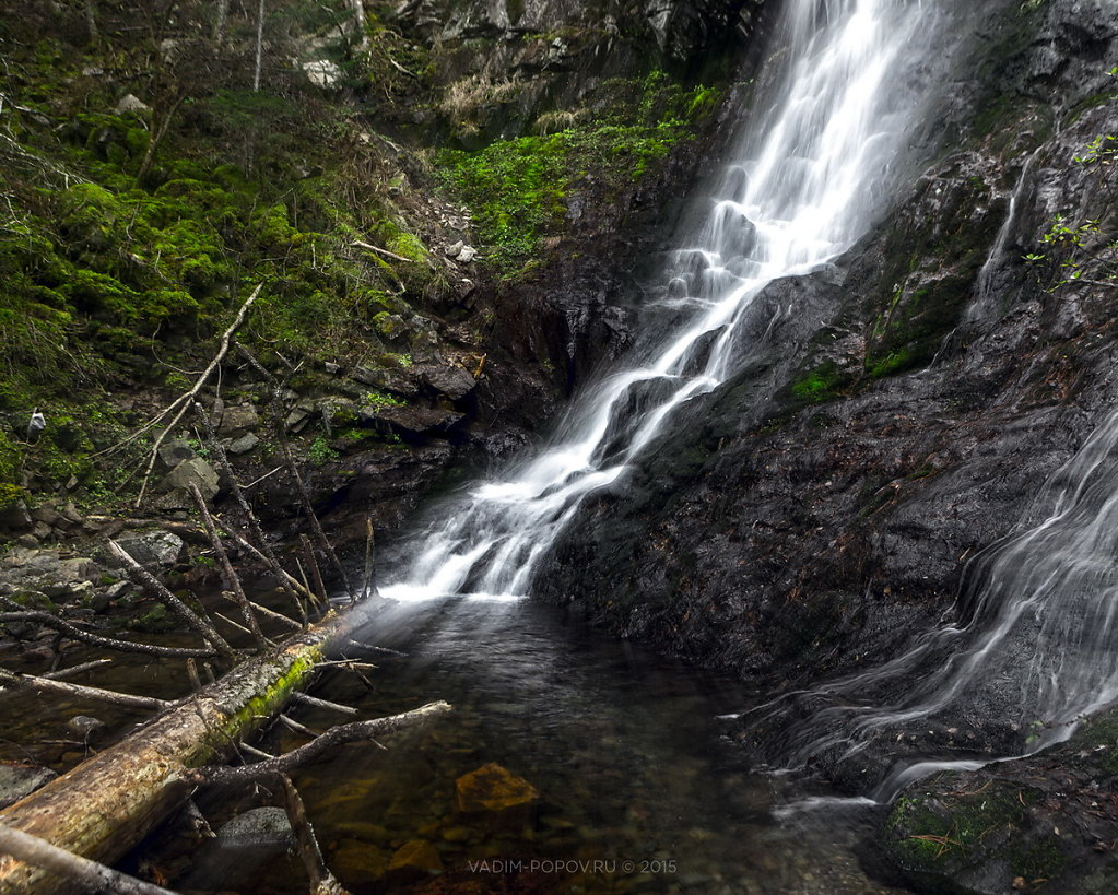 Алексеевские водопады