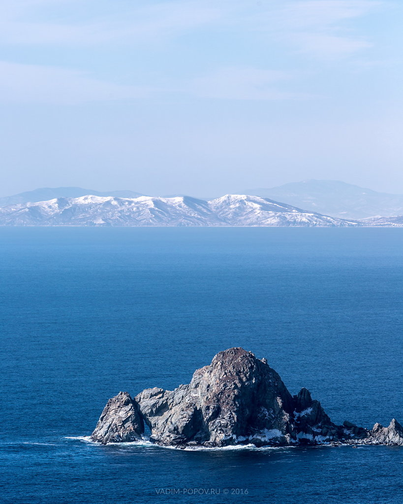 Пейзаж на полуострове Гамова
